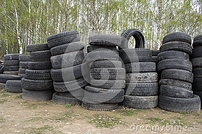 Used vehicle tires