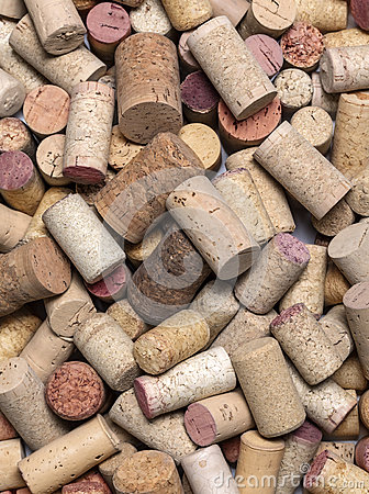 Free Used Wine Corks Close Up Stock Image - 84958241