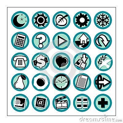Free Useful Icons 1 - Version 1 Stock Image - 323771
