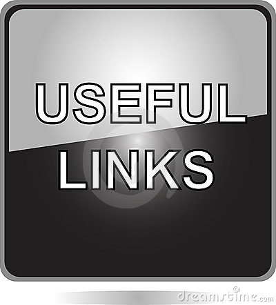 Useful links black web button
