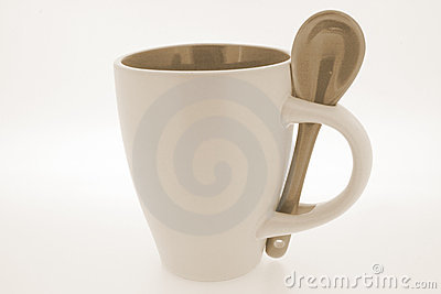 Useful mug and spoon