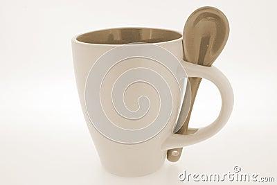 Useful mug and spoon