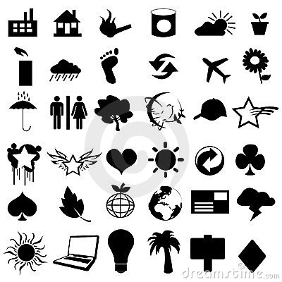 Useful vector pictograms