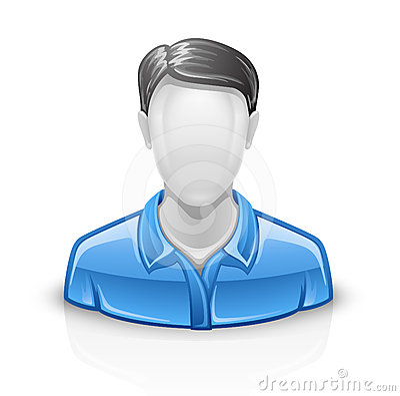 User icon man