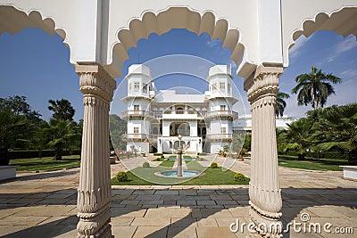 Usha Kiran Palace - Gwalior - India Editorial Photo