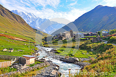 Ushguli Village, Svaneti Georgia