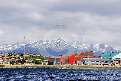 Ushuaia Editorial Stock Image