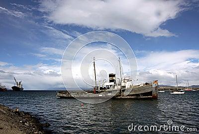 Ushuaia Harbour, Argentina