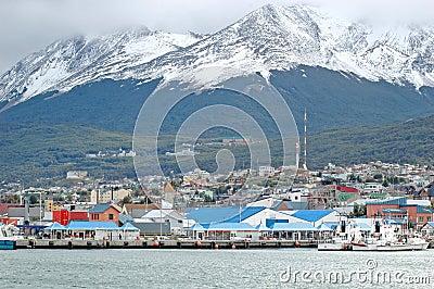 Ushuaia, Tierra del Fuego Editorial Stock Image