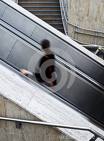 Using escalators