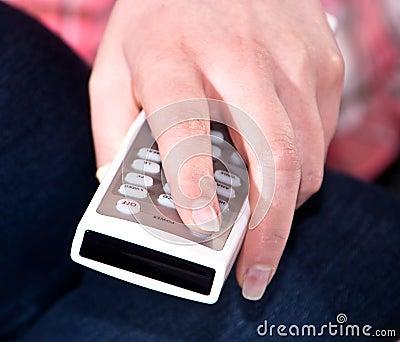 Using a remote control