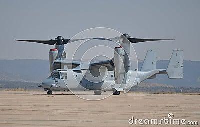 USMC MV-22 Osprey Aircraft