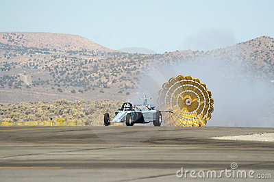 USO Smoke N Thunder Jet Car Editorial Stock Image