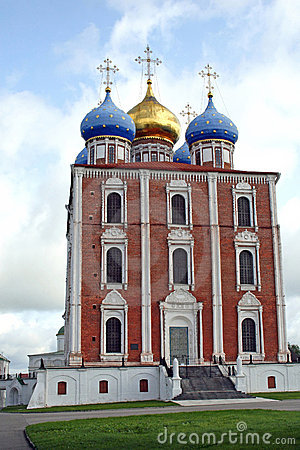 Free Uspensky Cathedral 02 Stock Photography - 1302182