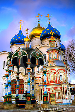 Free Uspensky Church Trinity-St. Sergius Lavra Stock Photos - 4809333