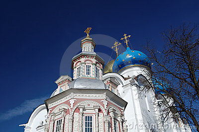 Uspensky Church Trinity-St. Sergius Lavra