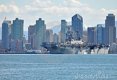 The USS Boxer (LHD 4) Editorial Photo
