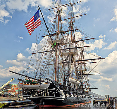 Free USS Constitution (Old Ironsides) Stock Photo - 22673220