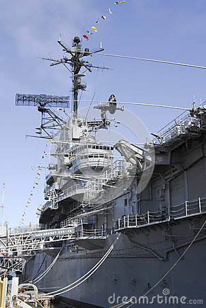 USS Hornet Editorial Stock Photo