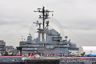 USS Intrepid Editorial Stock Photo