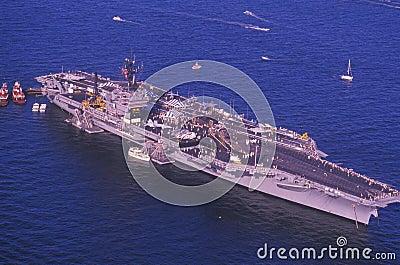 USS Kennedy Editorial Image
