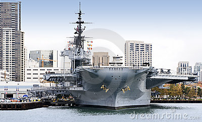 USS Midway Editorial Image
