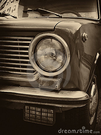 USSR car headlight
