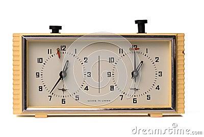 USSR chess clock