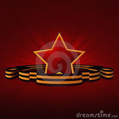 USSR Victory day Red Star
