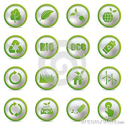 Ustawiać eco ikony