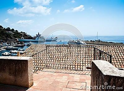 Ustica island view. Sicily