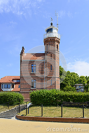 Free Ustka Lighthouse Stock Images - 56578624