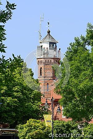 Free Ustka Lighthouse Stock Photos - 56648263