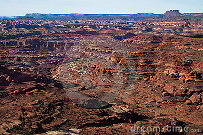 UT-Canyonlands National Pk-White Crack