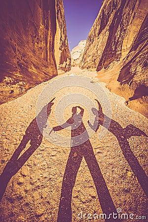 Free Utah Canyon Fun Royalty Free Stock Photos - 39751948