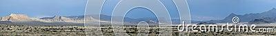 Utah/Nevada landscape panorama