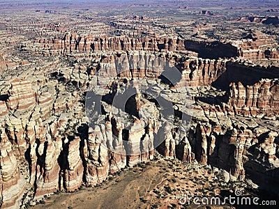 Utah rock formations.