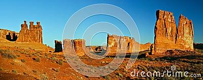 Utah rocky desert