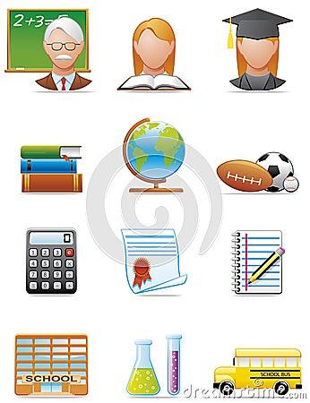 Utbildningssymboler