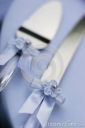 Utensilios de la boda