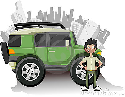 Utility green vehicle