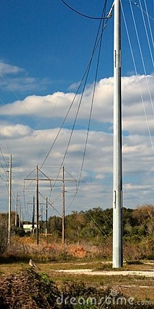 Free Utility Lines Royalty Free Stock Image - 1960266