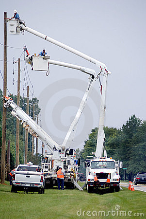 Free Utility Workers Stock Image - 10968131