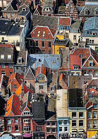 Free Utrecht City Areal View Stock Photos - 10071333
