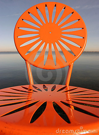 Free Uw Chairs Orange Royalty Free Stock Photos - 353068