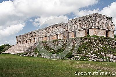 Uxmal Maya Ruins Casa del Gobernador Mexico