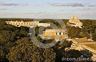 Uxmal Mayan Pyramids, Yucatan, Mexico