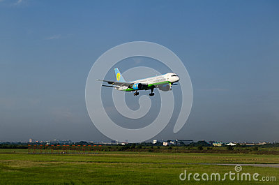Uzbekistan Airways plane Editorial Photo