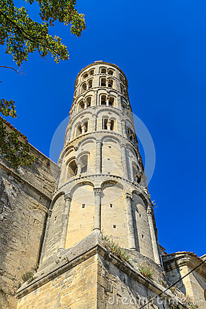 Uzes, Fenestrelle Tower, France