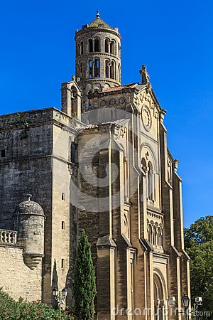 Uzes, Fenestrelle Tower, France